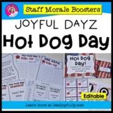 JOYFUL DAYZ (Staff Morale Boosters) HOT DOG DAY