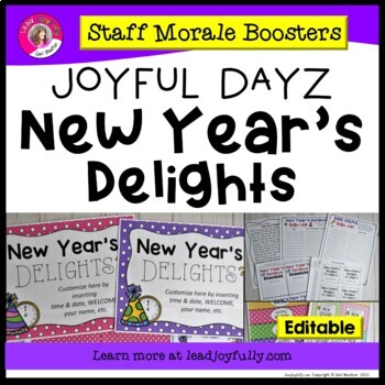 JOYFUL DAYZ (Staff Morale Boosters) NEW YEAR'S DELIGHTS
