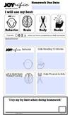 JOYrific Homework Form 2