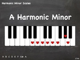JPG = Harmonic Minor 1-Octave Scales (21x - some enharmoni