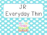 JR Everyday Thin Font