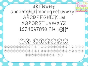 JR Fonts Bundle 1