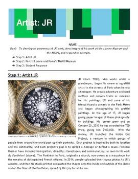 JR: French Photographer and Graffiti Artist