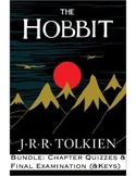 "JRR Tolkien's ""The Hobbit"" Bundle -Chapter Quizzes & Final"