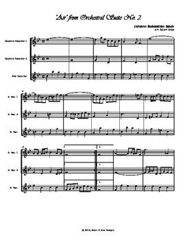 JS Bach - Air
