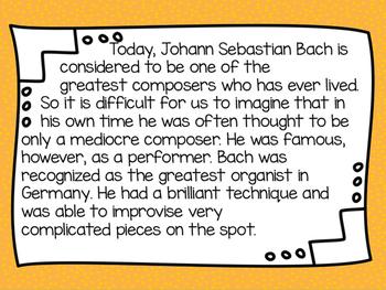 JS Bach Freebie