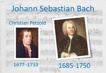 JS Bach - Minuet in G - Ta, Ti-ti (♩ ♫)