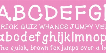JS Bubbly Fun Font