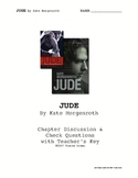 """JUDE"" by Kate Morgenroth Comprehensive Questions w/Key"