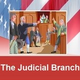 JUDICIAL BRANCH: powerpoint and cloze notes sheet