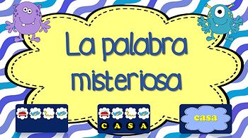 JUEGO: La Palabra Misteriosa (1-25) / GAME: The Secret Word (1-25) Sight words
