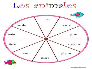 JUEGOS PALABRAS USO FRECUENTE SPANISH SIGHT WORD GAMES