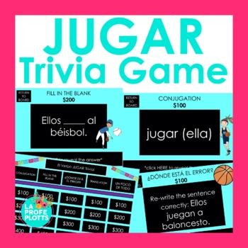 JUGAR Jeopardy-Style Trivia Game