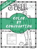 Spanish Verb Conjugation Worksheet   JUGAR
