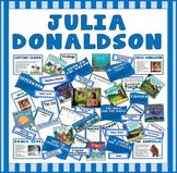 JULIA DONALDSON TEACHING RESOURCES AND DISPLAY EFS AND KS1 AUTHOR GRUFFALO ETC