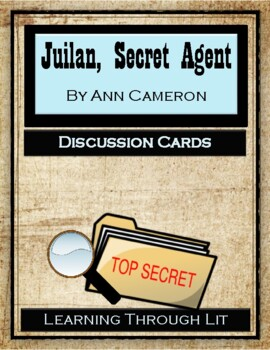 JULIAN, SECRET AGENT by Ann Cameron - Discussion Cards