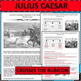 JULIUS CAESAR CROSSES THE RUBICON Differentiated Activity