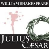 JULIUS CAESAR Unit - Play Study Bundle (William Shakespear