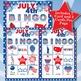 JULY 4th 3x3  BINGO