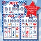 JULY 4th 4x4  BINGO