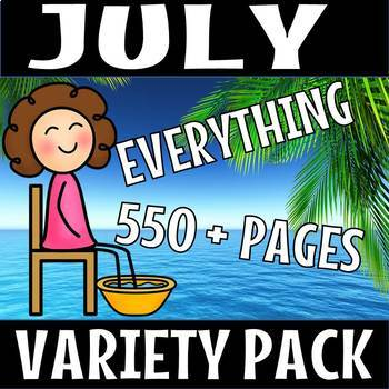 JULY EVERYTHING BUNDLE