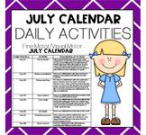 JULY Fine Motor/Visual Motor (Daily Activities)