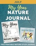 JULY Free My Year Nature Journal