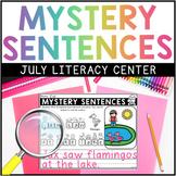 JULY Mystery Sentences