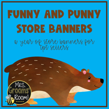 JULY TPT BANNERS FOR TPT SELLERS