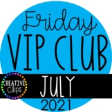 JULY VIP Club 2021: JULY Clipart ($19.00 Value)