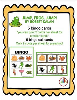 JUMP, FROG, JUMP!  BINGO