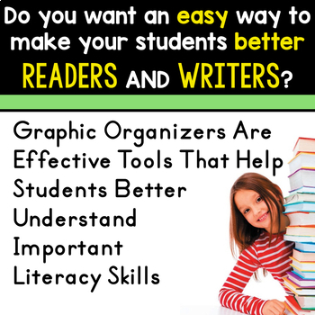 JUNE BUNDLE  Graphic Organizers for Reading  Reading Graphic Organizers
