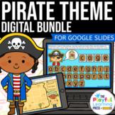 PIRATES | Digital Math & Literacy Bundle | For Google Slid