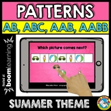 JUNE MATH CENTER (SUMMER PATTERNING) END OF THE YEAR ACTIV