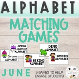 JUNE Monthly Alphabet Letter Recognition Games