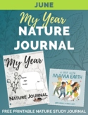 JUNE My Year Nature Journal Free Printable