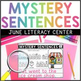JUNE Mystery Sentences