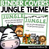 JUNGLE Binder Cover Sheet