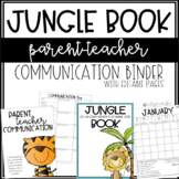 JUNGLE Communication Book - Editable