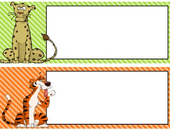 JUNGLE - CREATE your OWN - Common Core Standards posters