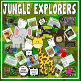 JUNGLE EXPLORERS - SCIENCE KEY STAGE 1-2 EYFS RAINFOREST ANIMALS ROLE PLAY