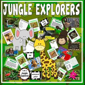 JUNGLE EXPLORERS - SCIENCE KEY STAGE 1-2 EYFS RAINFOREST A