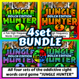 JUNGLE HUNTER - Dolch BUNDLE 4 in 1 - A Fun High Frequency