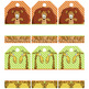 JUNGLE - Luggage Tags and Can Covers, MS PowerPoint, EDITABLE
