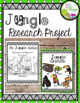 Free JUNGLE Research/Report Project Booklet