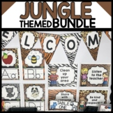 JUNGLE THEMED DECOR BUNDLE