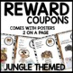 JUNGLE themed Incentive Coupons