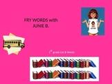 JUNIE B. JONES Fry (SIGHT) Words Powerpoint Game! 1st grade List B!