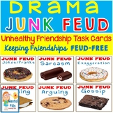 JUNK FEUD: Drama Task Question Cards To Promote Healthy Fr