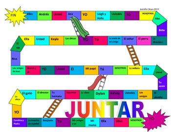 JUNTAR: A SPANISH VERB CONJUGATION GAME
